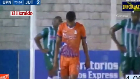 Con triplete de Kilmar Peña la UPN le gana 4-2 a Juticalpa