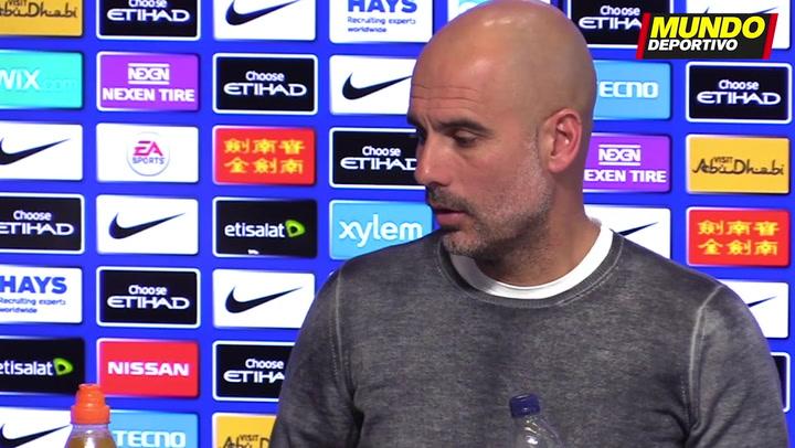 """Guardiola: """"Es un sueño estar aquí"""""""