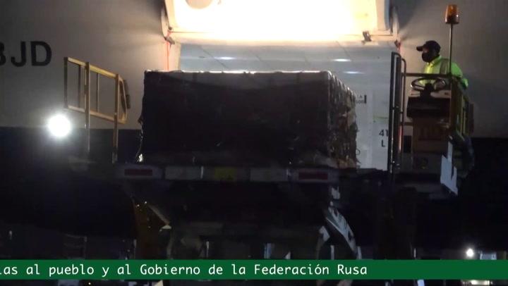 México recibe las primeras 200.000 dosis de la vacuna rusa Sputnik V