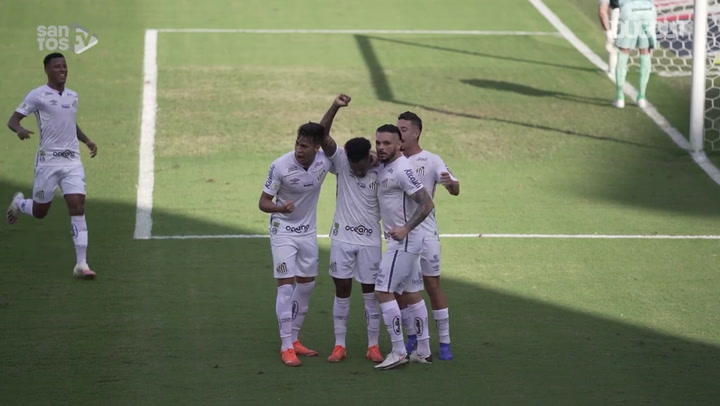 Santos beat Grêmio at Vila Belmiro