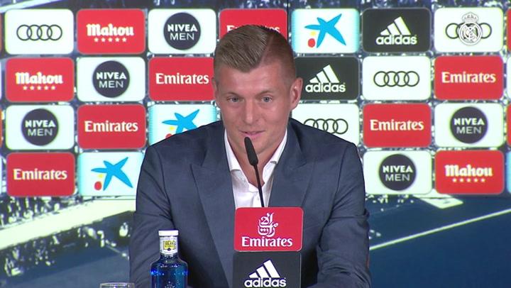 """Kroos: """"El Real Madrid y yo tenemos una relación especial"""""""