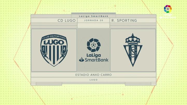 LaLiga SmartBank (J20): Resumen del Lugo 0-0 Sporting