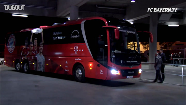 Behind The Scenes: Bayern Vs Liverpool at Allianz Arena