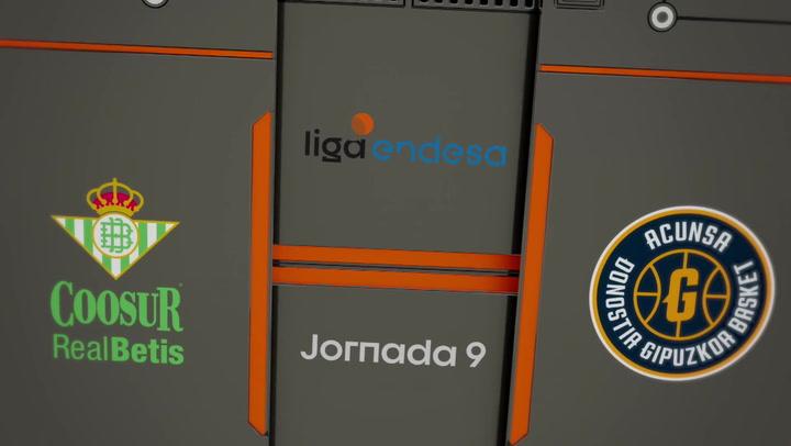 Resumen del Coosur Real Betis - Acunsa GBC (74-62) de la Liga Endesa