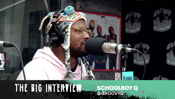 Schoolboy Q On Staying Inspired During Minor Setbacks, Crash Talk and His New Hobby