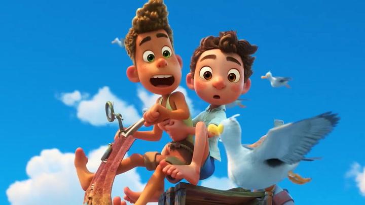 Disney y Pixar presentan la película animada Luca