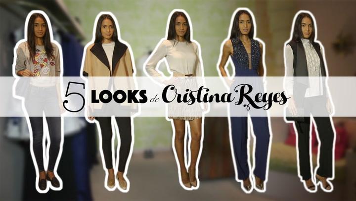 Cinco \'looks\' de Cristina Reyes con los que acertar esta temporada