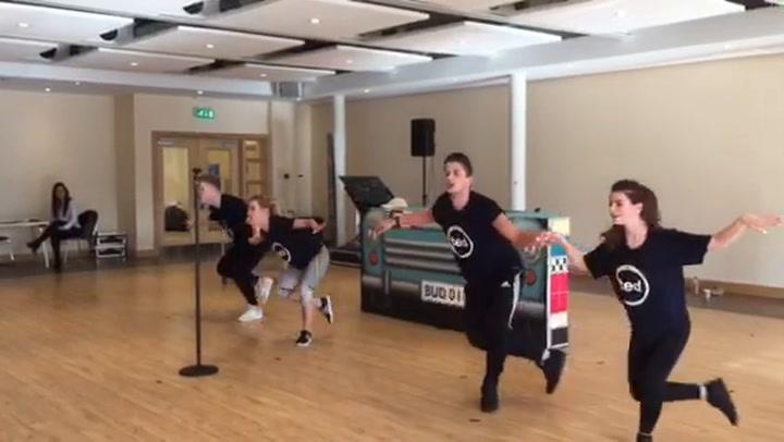 Marella Cruises Cast Members Rehearse New Show Debut