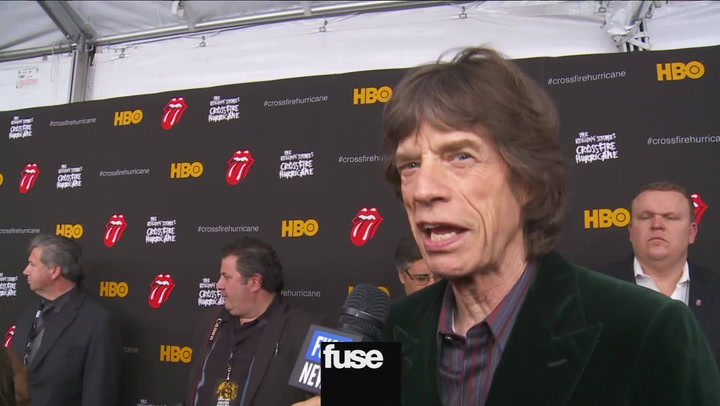 The Rolling Stones Crossfire Hurricane Premiere