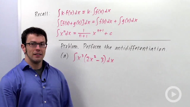Indefinite Integrals - Problem 3
