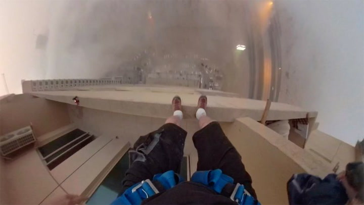 They're Out Of The Milk So Of Course, This Man BASE Jumps 29 Floors To Get It