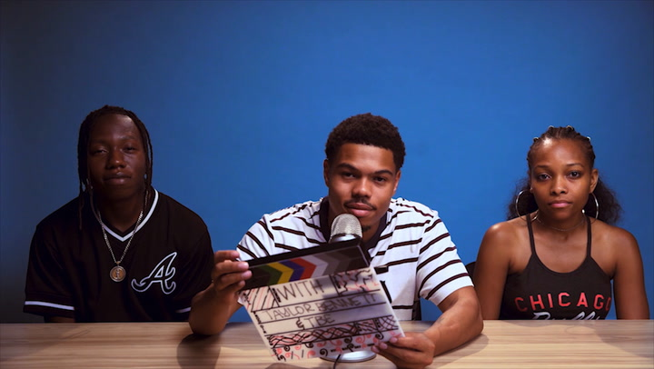 Taylor Bennett & TBE Get Creative With Balloons While Doing ASMR