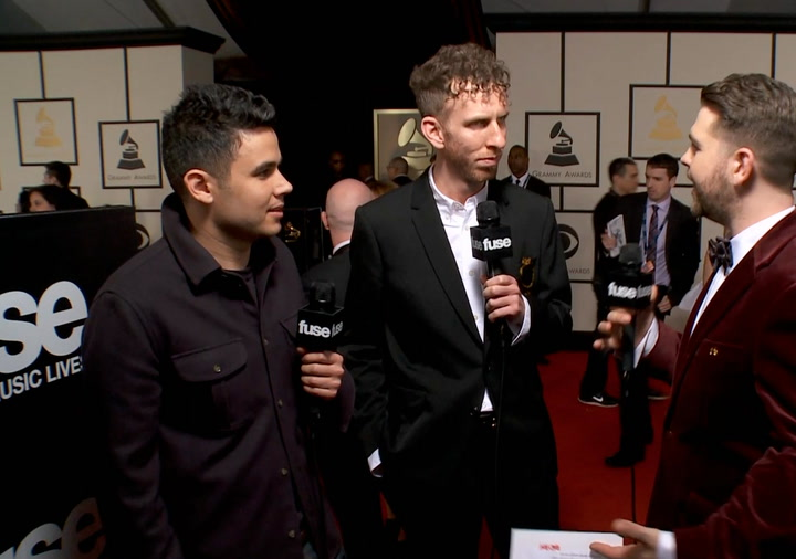"Shows: Grammys 2014: Vampire Weekend: ""We Benefited From Going Head to Head"""