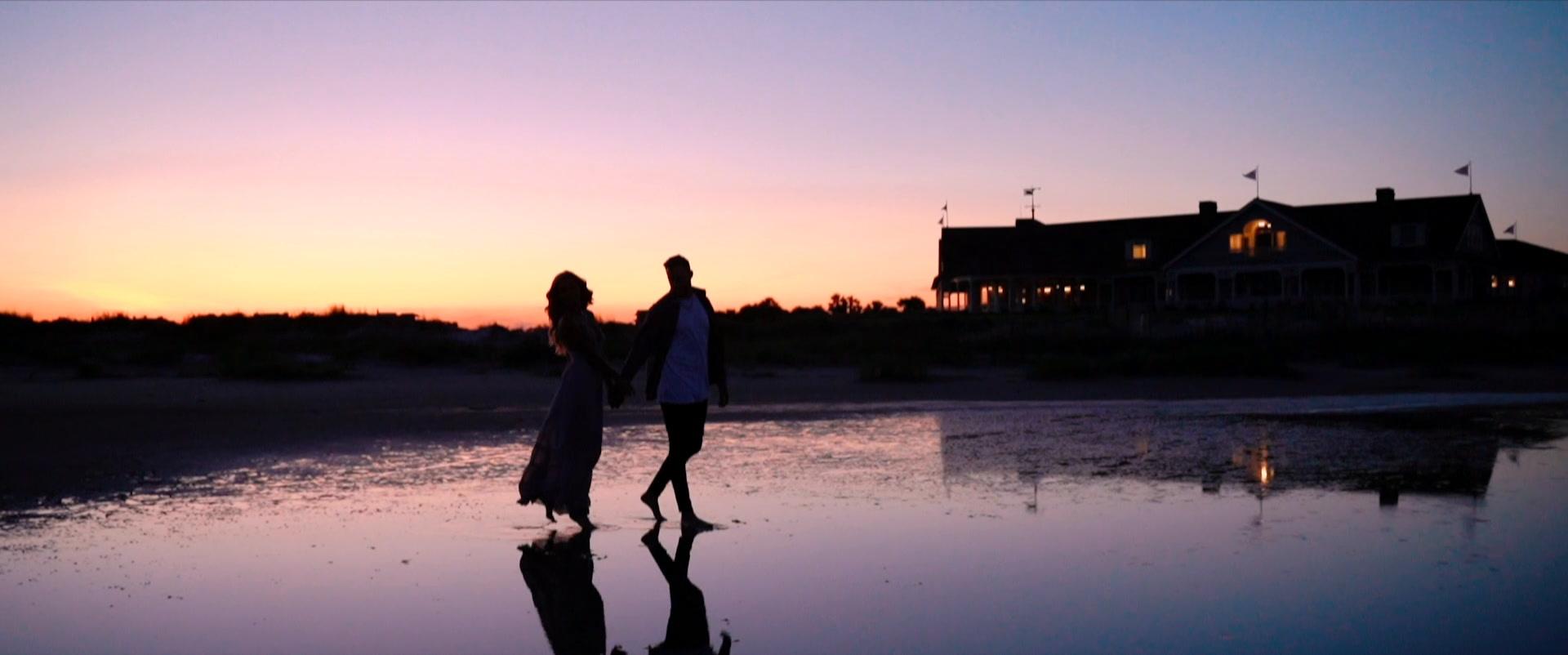 Laura + Jack | Kiawah Island, South Carolina | a beach