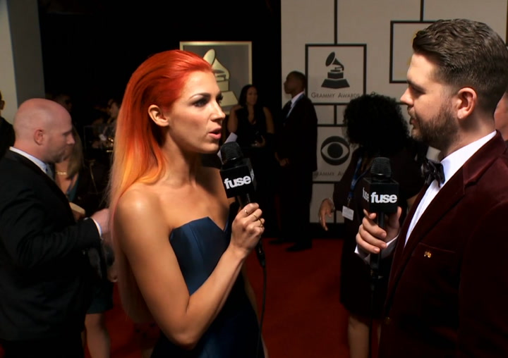 Interviews: Artist on the Superbowl (Grammy Red Carpet)