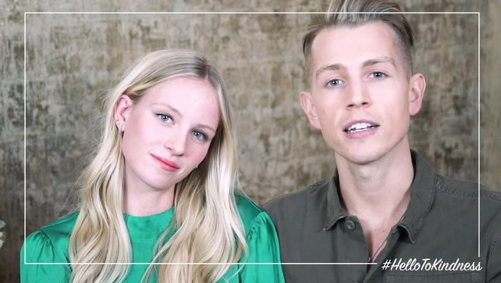 HELLO! to Kindness: James McVey & Kirstie Brittain