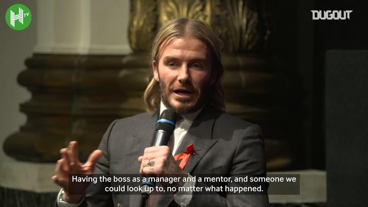 David Beckham reflects on Sir Alex Ferguson's Flying Boot