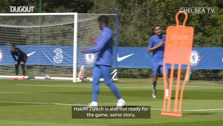 Frank Lampard provides injury update and Thiago Silva's progress