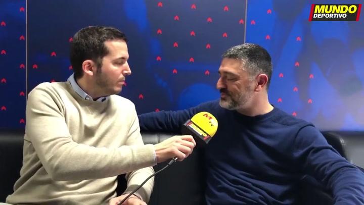 Entrevista MD a Javier García Pimienta, entrenador del FCB B