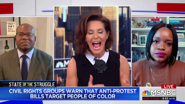 Jason Johnson: Last Summer Mostly Peaceful BLM Protesters 'Were Attacked by Police Officers'