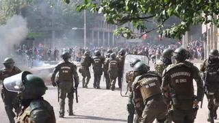 Violentos incidentes durante jornada de huelga en Chile