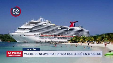 Muere de neumonía en Roatán turista de EEUU que llegó en crucero