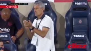 Un Messi imparable: Se quitó dos marcas como si nada para asistir en golazo de Luis Suárez