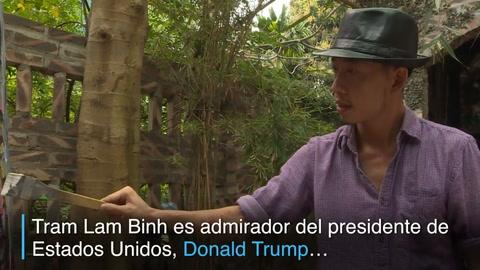 Retratos de Kim y Trump muestran frenesí por cumbre en Vietnam