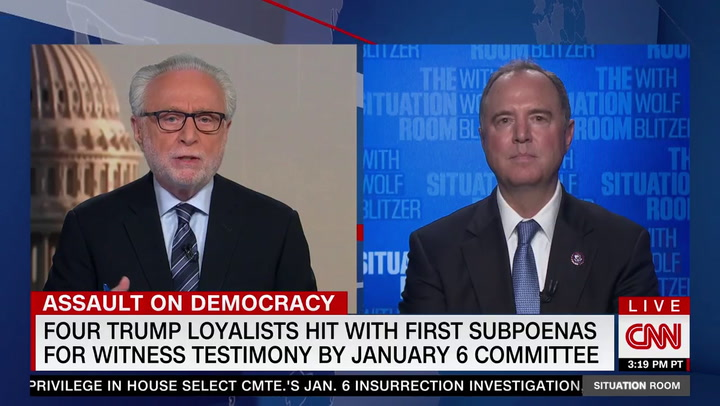 Schiff: Select Committee to Enforce Subpoenas with 'Criminal Contempt'