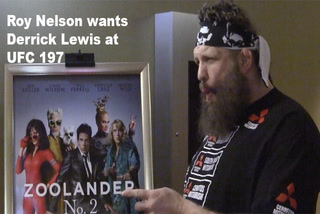 Roy Nelson wants Derrick Lewis at UFC 197