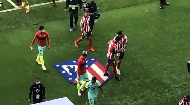 """Vitolo y el """"usted no pise ese escudo"""" a Luis Suárez"""