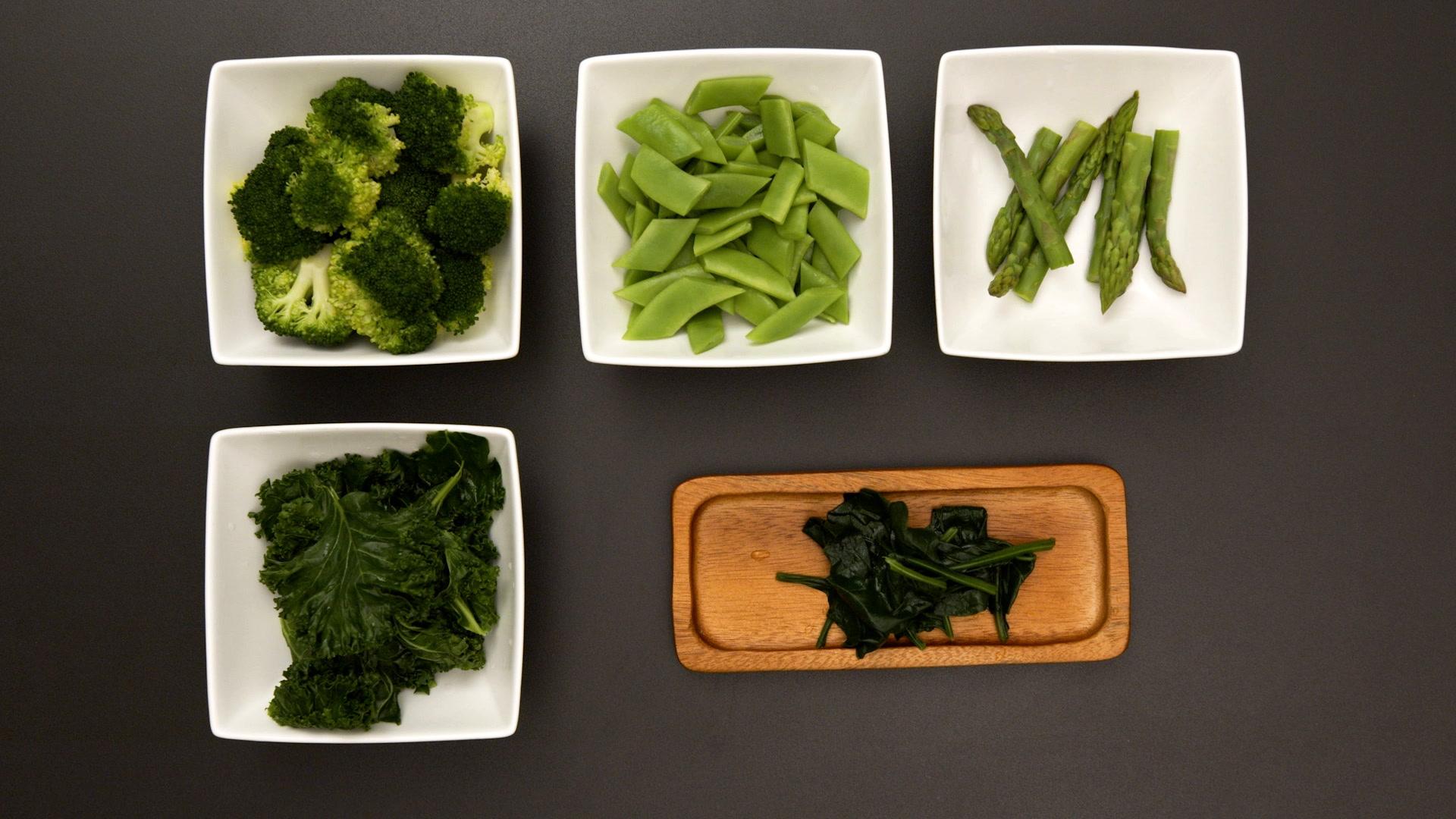 Cómo blanquear verduras