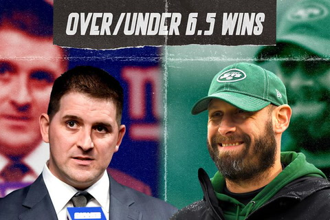 Giants and Jets: Over/Under 6.5 wins, who gets to 7?