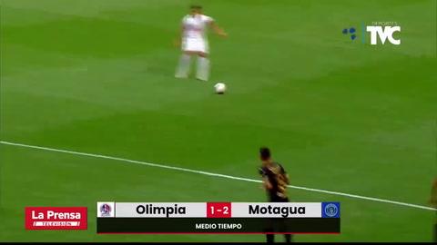 Olimpia  2 - 3 Motagua (Amistoso)