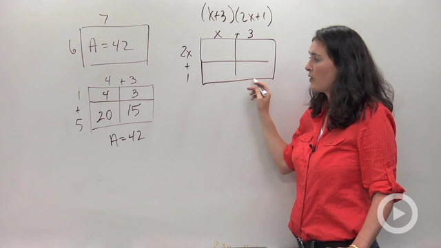 Multiplying Polynomials using Area Models