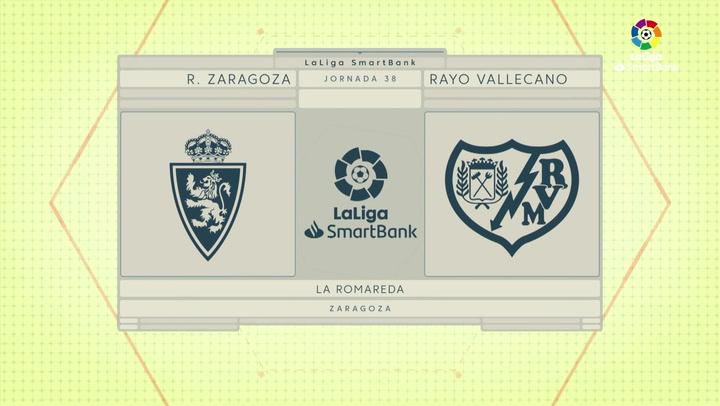 LaLiga SmartBank (J.38): Zaragoza 2-4 Rayo Vallecano