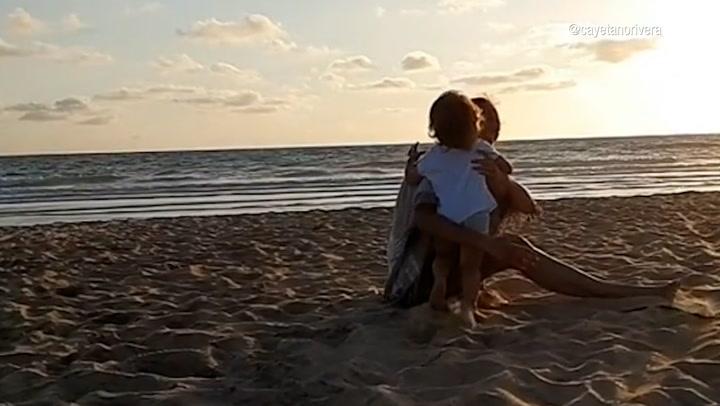 El emocionante video homenaje de Cayetano Rivera a Eva González con su hijo de gran protagonista