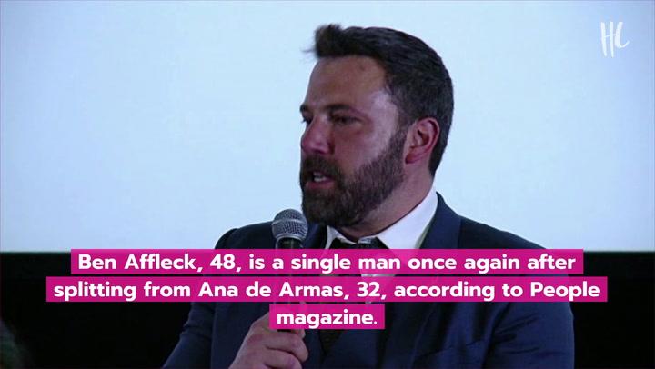 Ben Affleck & Ana De Armas Split After Nearly 1 Year Together