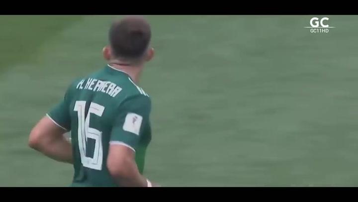 Así juega Héctor Herrera, fichaje del Atlético