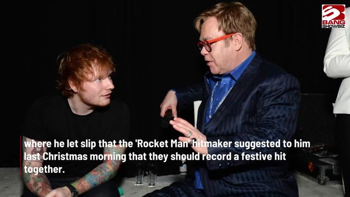 Ed Sheeran and Elton John to release collaborated Christmas single