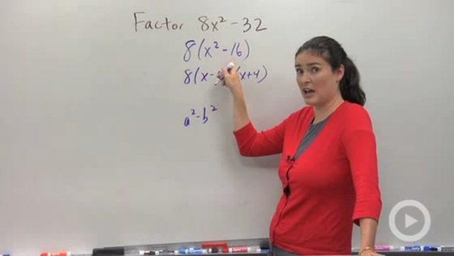 Factoring: Special Cases Part I - Problem 1