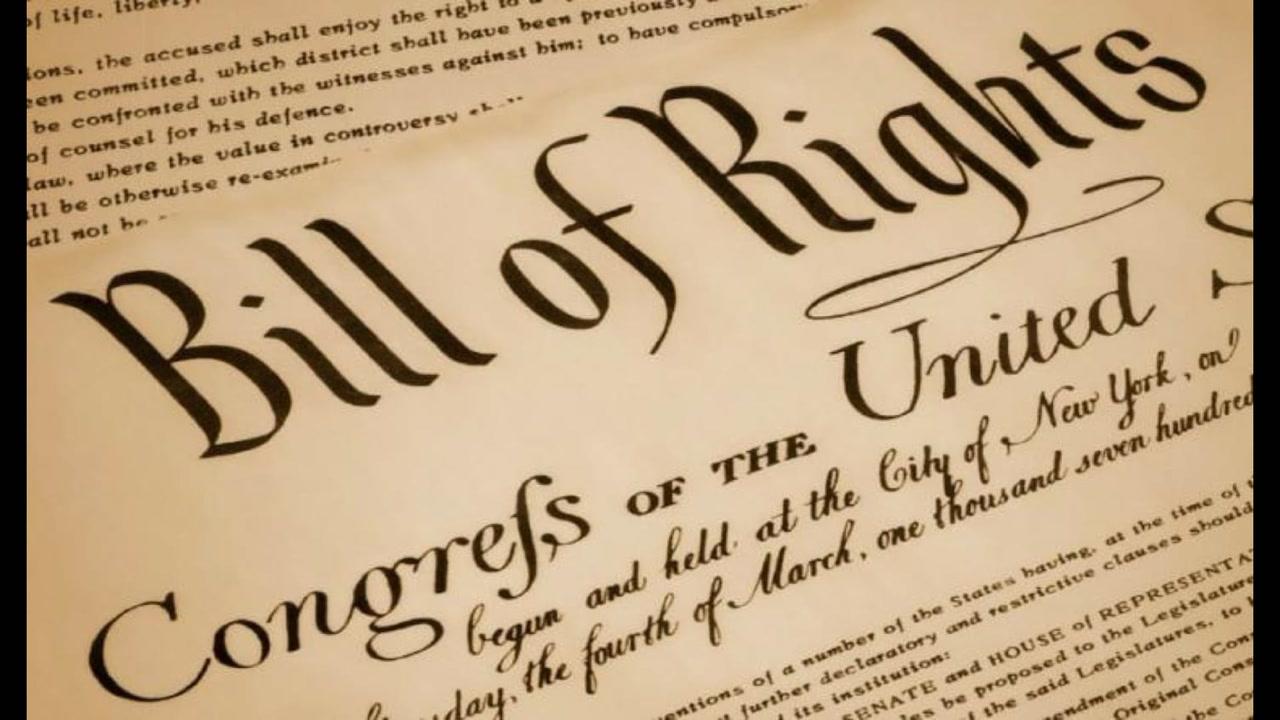<em>L'ABC de la politique américaine #28</em>: le Bill of Rights [VIDÉO]