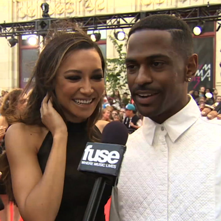 Naya Rivera & Her Beau Big Sean Play Coy About Collaborating on MMVA Red Carpet