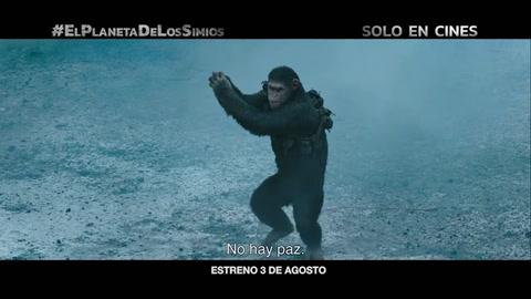 Trailer - La guerra del planeta de los simios