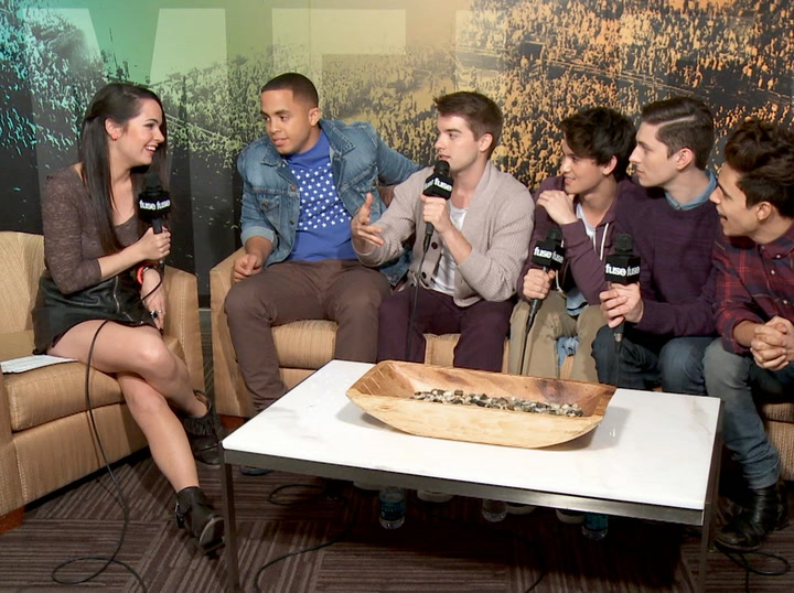 Interviews: Boy Band Midnight Red Reveal Advice Backstreet Boys Gave Them