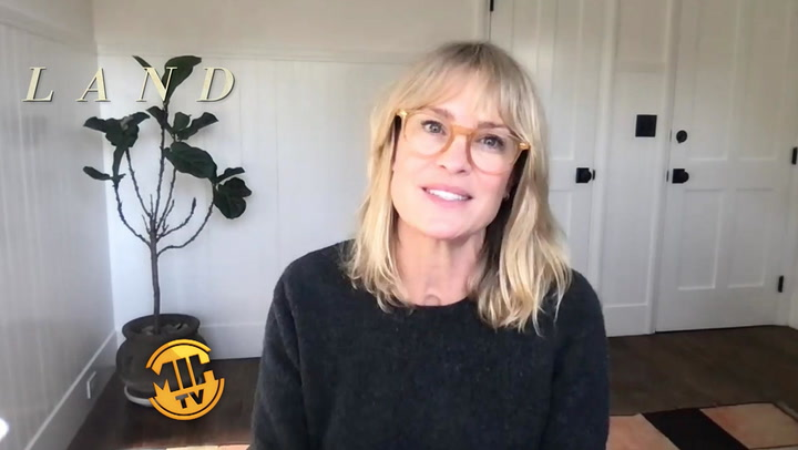 'Land' Interviews with Robin Wright and Demián Bichir
