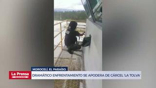 Dramático enfrentamiento se apodera de cárcel 'La Tolva'