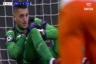 El inexplicable fallo de Maxi Gómez ante el Atalanta en Champions