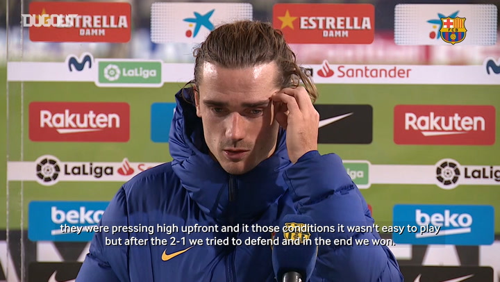 Antoine Griezmann: 'We have to continue like this'