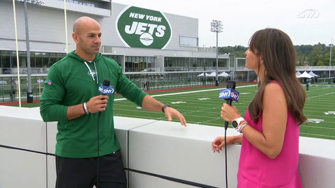 Robert Saleh pleased with first Jets training camp, Zach Wilson improving every day